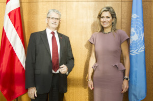 PGA meets with Queen of  the Netherlands