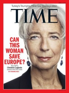 Christine Lagarde Time