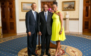 Kenyan President Obama & Michelle Obama