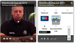 Stg Geef Gratis Weg Video Boodschap 2013