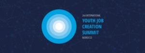 Youth job creation summit logo Marocco