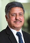 Pics Dr. Ramanathan Raju, MD, MBA bio
