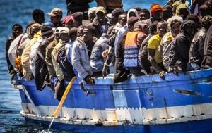 Boodvluchtelingen