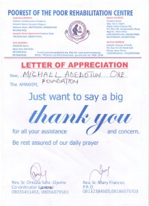 WM Ghana Adetunde Appreciation Letter