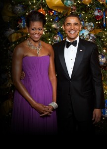 Pics Christmas Obama Michelle
