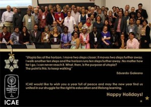 Pics from ICAE