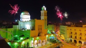 Picture of Tripoli , Liby tonight by Adam Bin Yousif