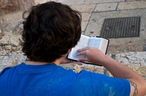 Reading the Bible in Jerusalem