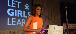 Gils Campaign with Michelle Obama