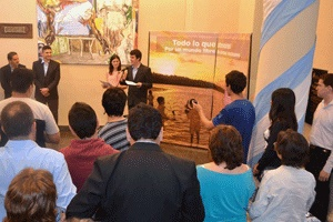 Exhibition held in Argentina