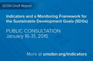 WM SDSN Banner indicators consultation