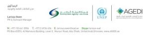WM network Logo Evironment Agency Abu Dibai
