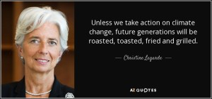 Christine Lagarde on Climate  Action