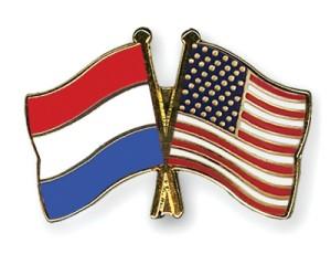 Flag Netherlands USA