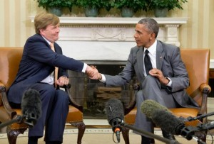 Obama King William USA