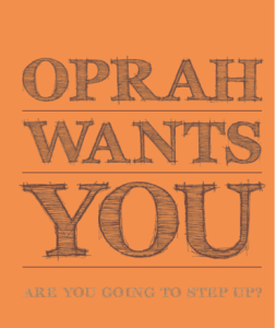 Oprah wants you Logo