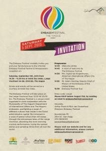 Invitation EMBASSY FESTIVAL INVITATION Sept 2015