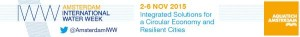 WaterWeek Banner 2015, 2-6 NOV