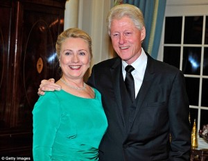 Pics Bil and Hillary Clinton
