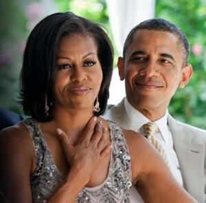 Pics v Michelle & Obama