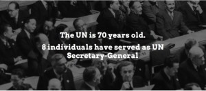 UN 70 Years Old