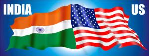 USA India Flag