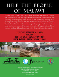 WM Jack Brewer Malawi Fundraise