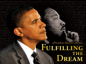 WM Obama Martin Luther King dream-fulfilled-50th-anniversary-march-washington