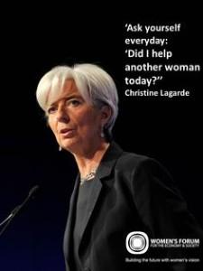 CHRISTINE-LAGARDE Women's Forum