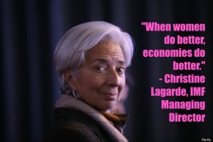 CHRISTINE-LAGARDE about Women