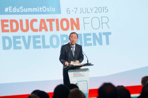 Opening of Oslo Summit on Education for Development