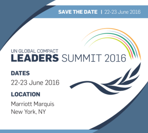 UN Global Impact Summit 2016
