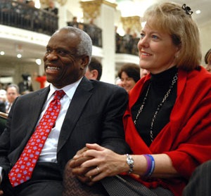 US, Supreme Court Justice,  Mr. Clarence Thomas & Wive Mrs. Ginni Thomas