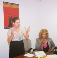 Ms Jamina de Gonzaga, Ms Helene H. Oord
