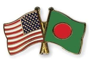 USA Bangladesh Flag