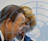 Helene & UN Ban Ki-Moon Picture