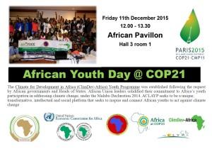 Afri YouthDay Cop21