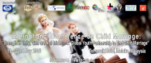 Intl Conference on Child Marriage
