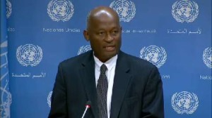 Pics Jean-Victor Nkolo- Spokesperson for the President of the 69th Session of the UN General Assembly