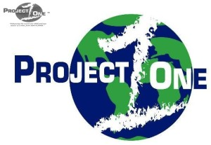 Proj One Jpeg Green & Black Logo